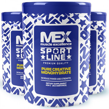 MEX Pure Creatine Monohydrate Powder 454g