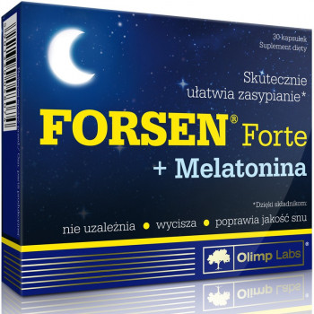 OLIMP Forsen Forte + Melatonina 30caps