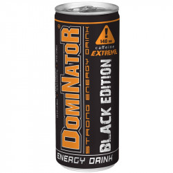 DOMINATOR - Strong Energy Drink BLACK EDITION 250ml