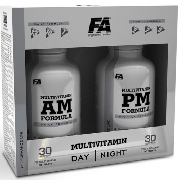 FA MultiVitamin AM + PM Formula 180tabs