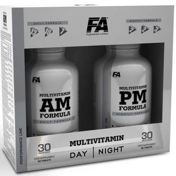 FA Nutrition MultiVitamin AM + PM Formula 180caps