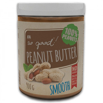 FA So Good! Peanut Butter Smooth 900g MASŁO ORZECHOWE