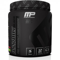 Muscle Pharm Assault Black 351g