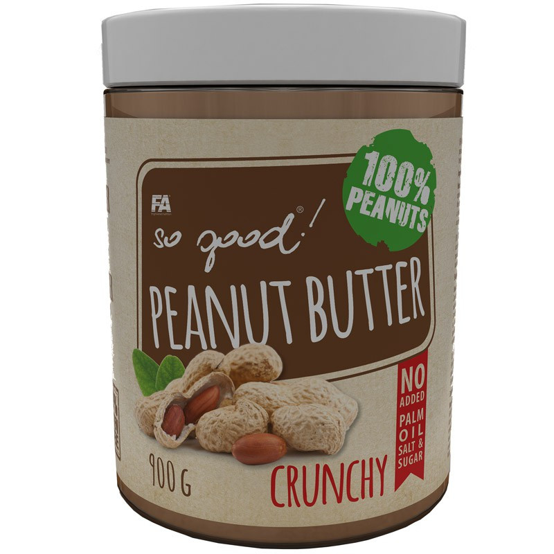 FA So Good! Peanut Butter Crunchy 900g