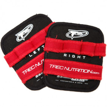 TREC Grip Fitness Red Black Gripy