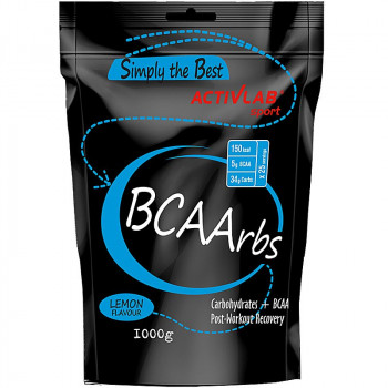 ACTIVLAB Simply The Best BCAArbs 1000g