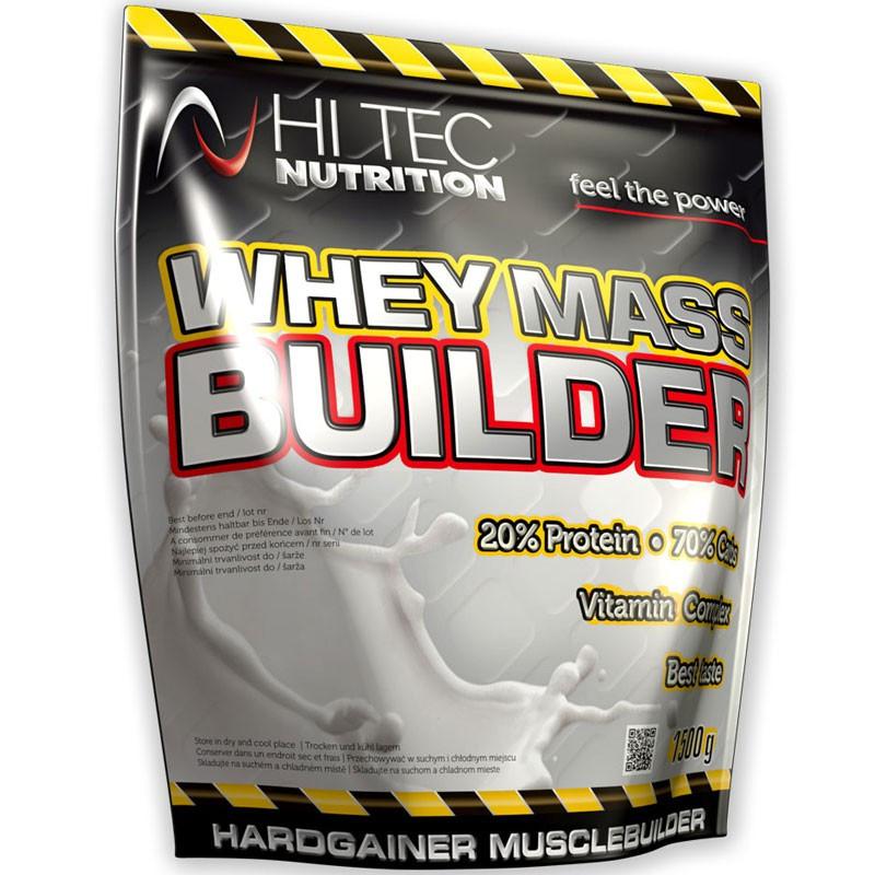 HI TEC Whey Mass Builder 1500g