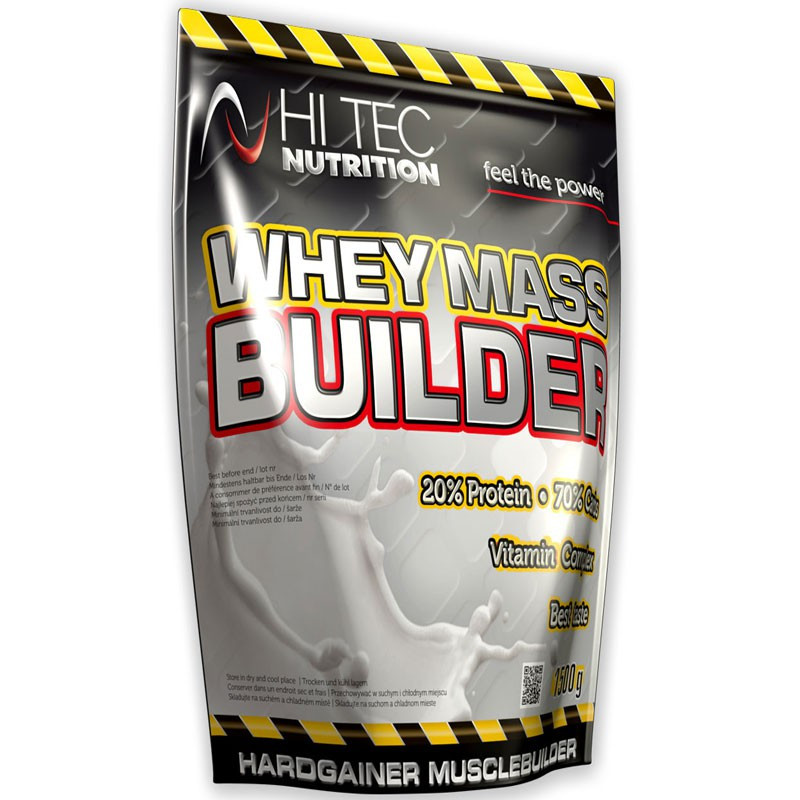 HI TEC Whey Mass Builder 3000g