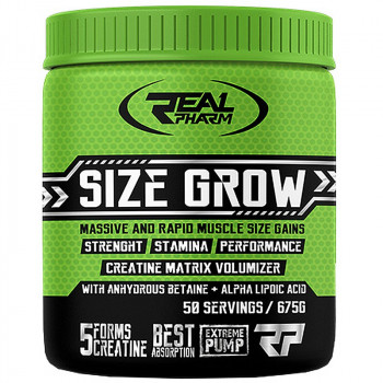 Real Pharm Size Grow 675g