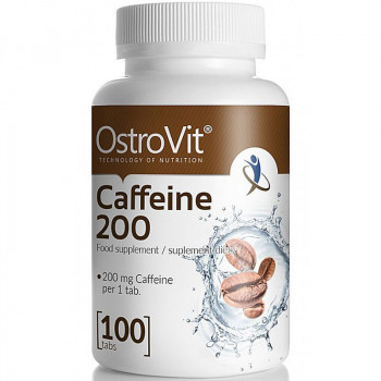 OSTROVIT Caffeine 200 100tabs