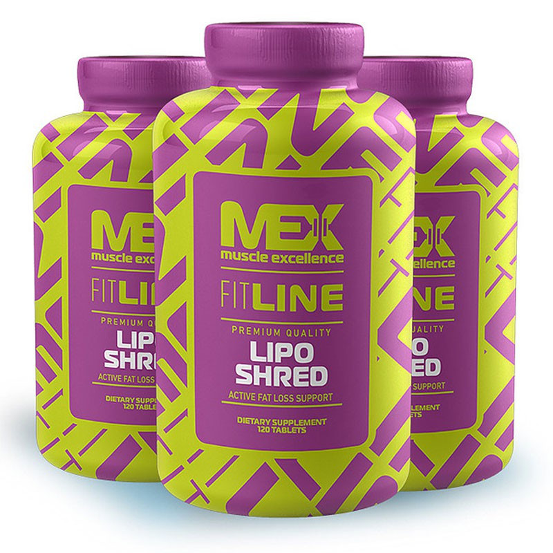MEX NUTRITION Lipo Shred 120tabs