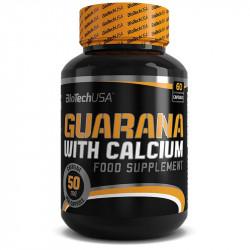 Biotech USA Guarana With Calcium 60caps