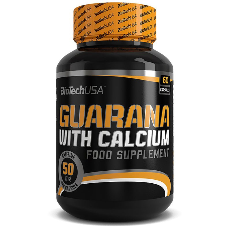 Biotech USA Guarana With Calcium 60caps