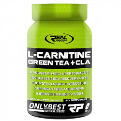 Real Pharm L-Carnitine Green Tea + Cla 90tabs