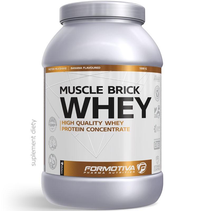 FORMOTIVA Muscle Brick Whey 1000g