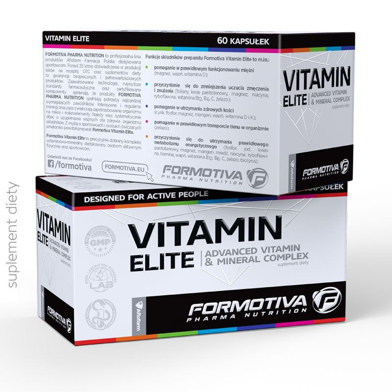 FORMOTIVA Vitamin Elite 60caps