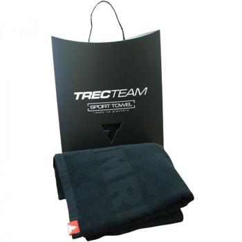 TREC Team Towel 003 Large 150x75cm Black Ręcznik Sportowy