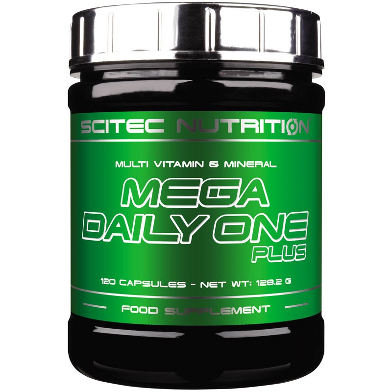 SCITEC Mega Daily One Plus 120caps
