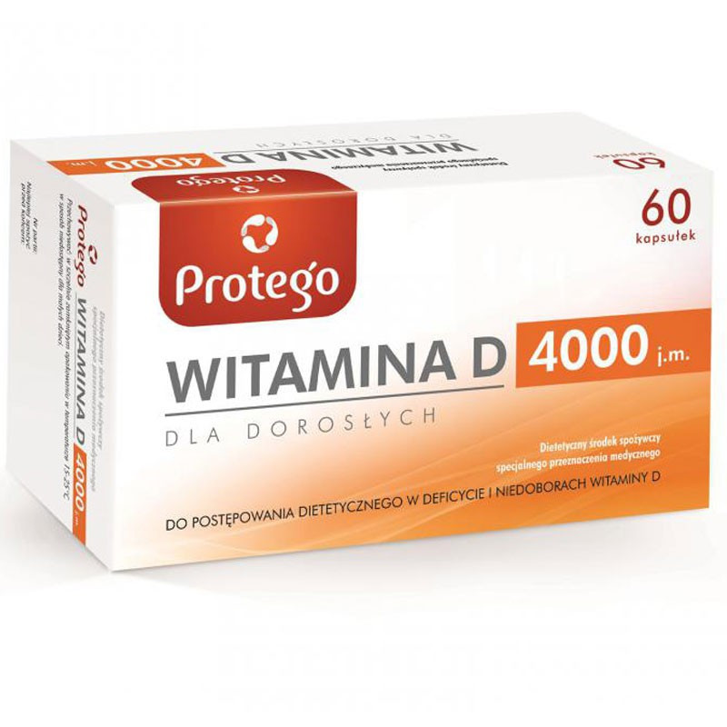 Protego Witamina D 4000 60caps