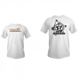 Koszulka Z Logiem Tanie-Odzywki T-Shirt