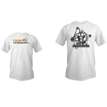 TANIE-ODZYWKI T-Shirt Koszulka Z Logiem Tanie-Odzywki