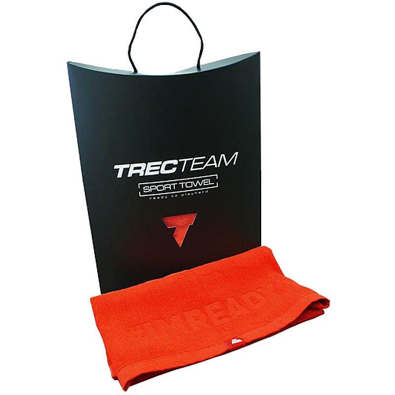 TREC Ręcznik Small 70x50cm Red