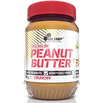 OLIMP Premium Peanut Butter Crunchy 700g MASŁO ORZECHOWE