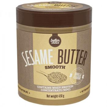 TREC Better Choice Sesame Butter Vanilia 450g MASŁO SEZAMOWE