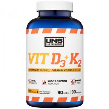 UNS Vit D3+K2  90tabs