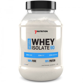7NUTRITION Whey Natural Isolate 90 2000g