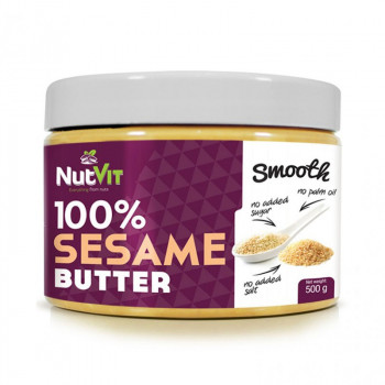 NutVit 100% Sesame Butter 500g MASŁO SEZAMOWE