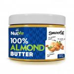 NutVit 100% Almond Butter Smooth 500g MASŁO MIGDAŁOWE