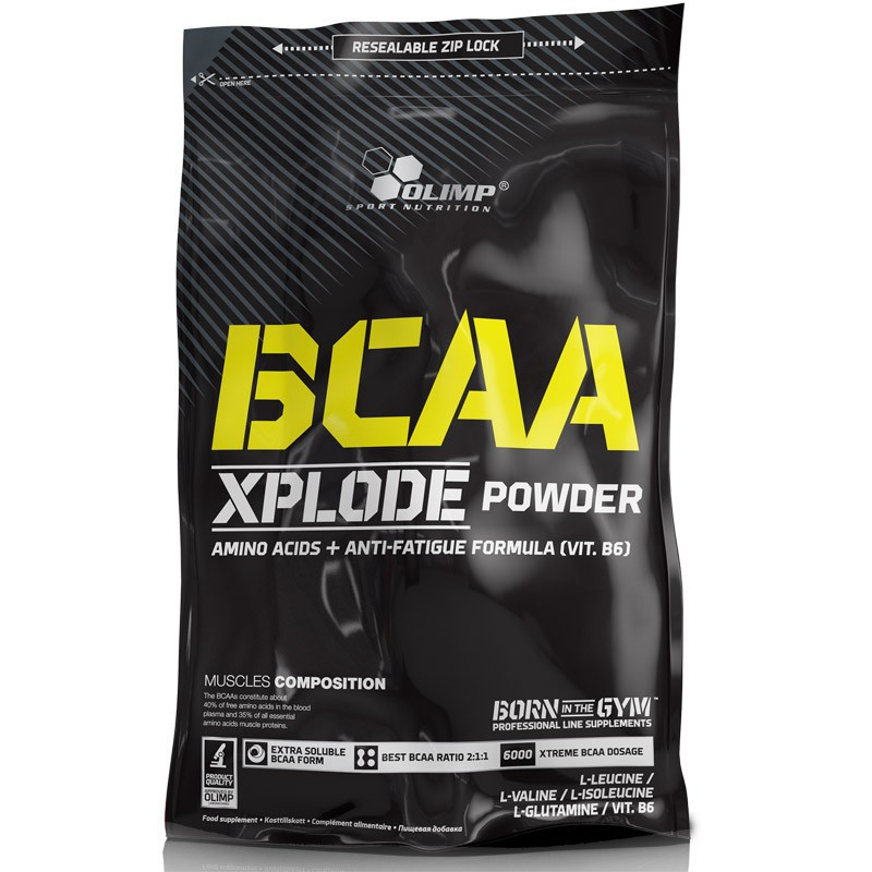 OLIMP BCAA Xplode Powder 600g + 100g
