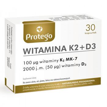 Protego Witamina K2+D3 30caps