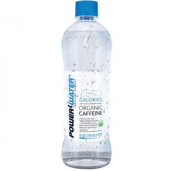 POWER WATER'S Zero Calories Organic Caffeine 500ml Woda z Kofeiną