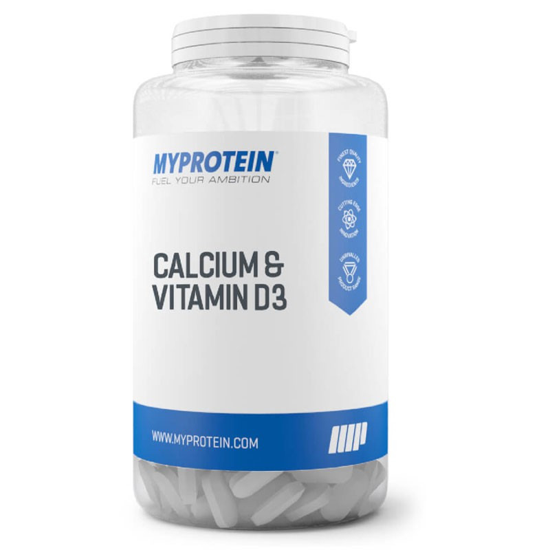 MYPROTEIN Calcium & Vitamin D3 60tabs Wapń I Witamina D3