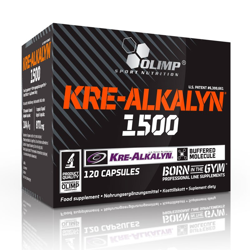 Olimp KRE-ALKALYN 1500 120 kaps
