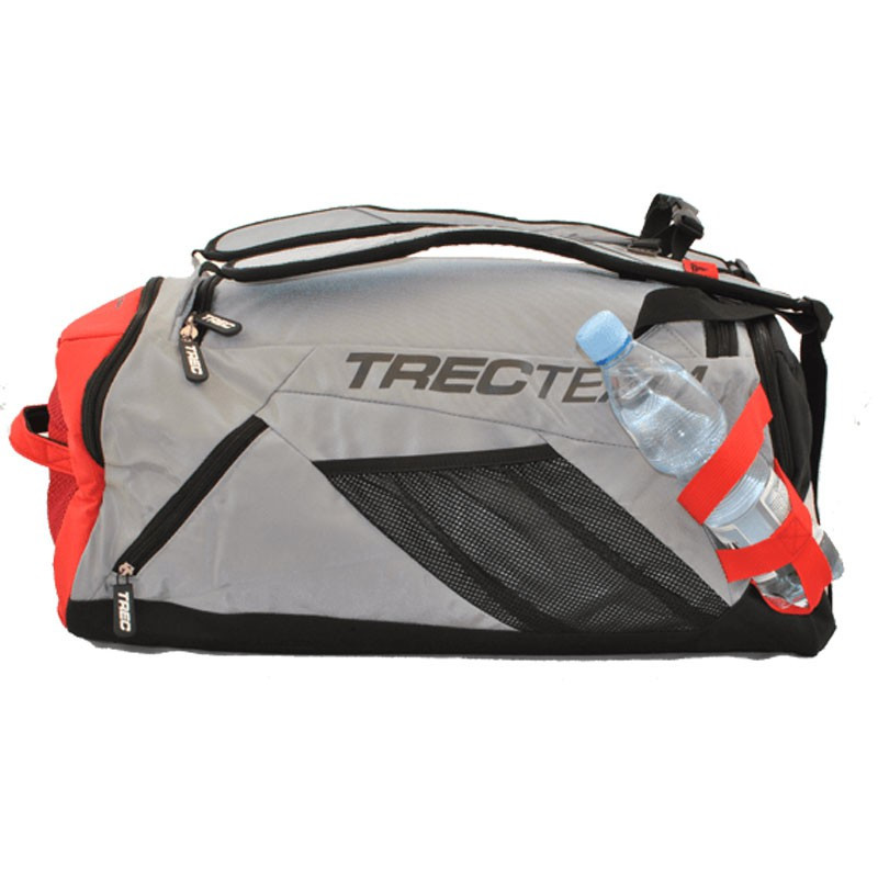TREC Team Training Bag 006 Grey Red Torba Treningowa