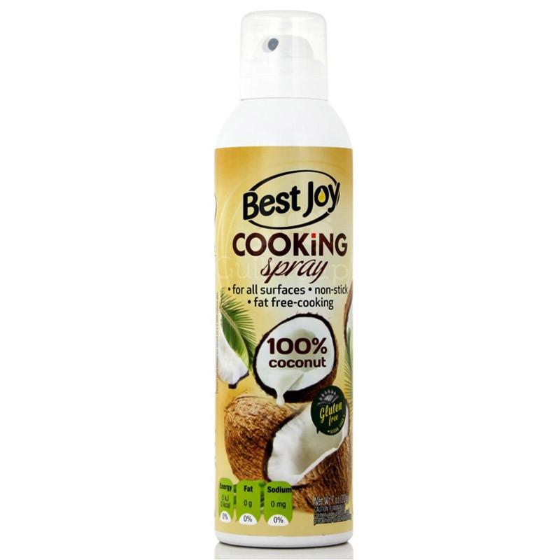 BEST JOY Cooking Spray 100% Coconut 201g