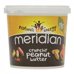 MERIDIAN Peanut Butter Crunchy 1000g MASŁO ORZECHOWE