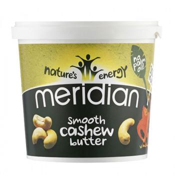 MERIDIAN Cashew Butter Smooth 1000g MASŁO Z ORZECHÓW NERKOWCA