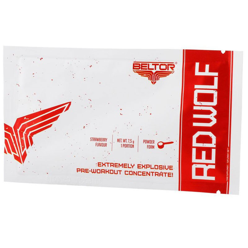 BELTOR Red Wolf 180g Powered By Trec