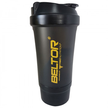 BELTOR Shaker Smart I Can I Will Black 500ml