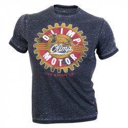 OLIMP Live And Fight Moto Panther Grey T-Shirt