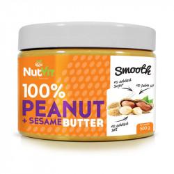NutVit 100% Peanut + Sesame...