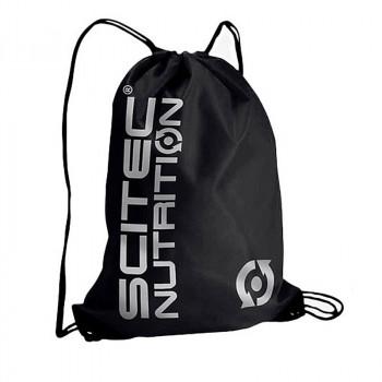 SCITEC Gym Sack Black Silver Print Worek Treningowy