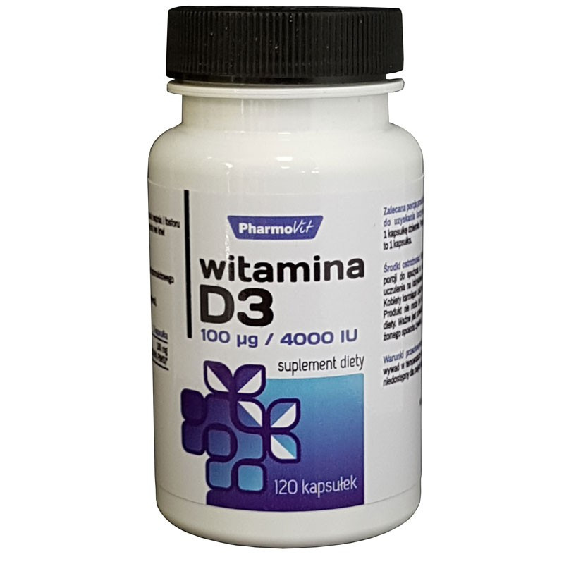 PHARMOVIT Witamina D3 120caps