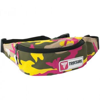TREC Sport Bumbag 010 Trecgirl Pink Yellow Nerka Na Biodro