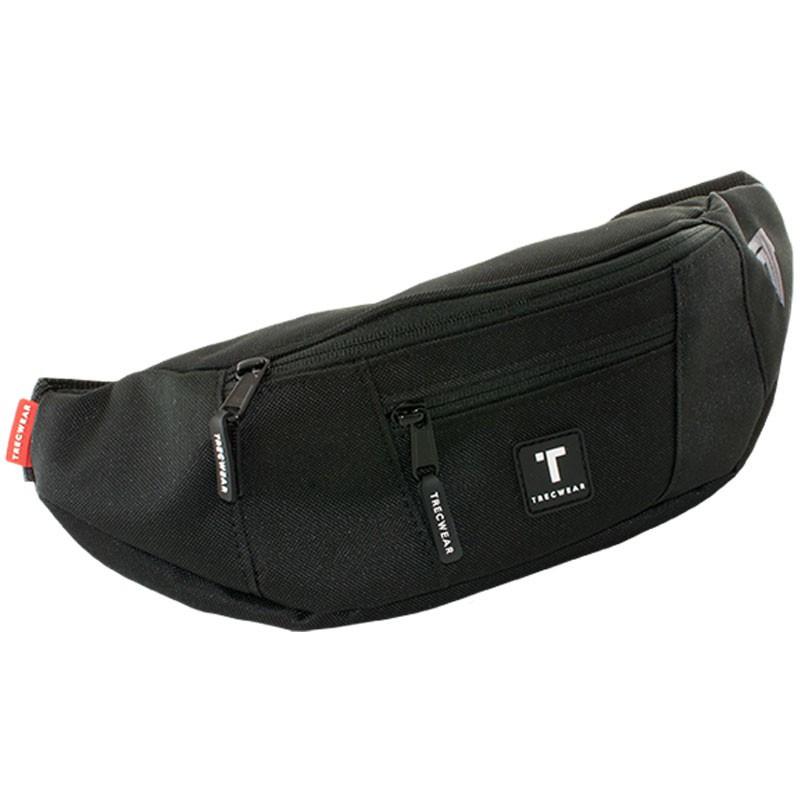 TREC Sport Bumbag 001 Large Black Nerka Na Biodro