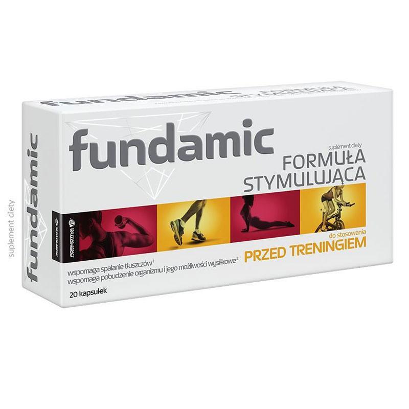 Formotiva Fundamic Formuła Stymulująca 20caps